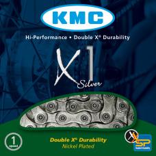 KMC Ketting X1 Silver