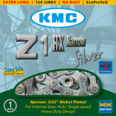 KMC Ketting Z1HX Narrow 128