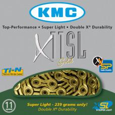 KMC Ketting X11SL Gold