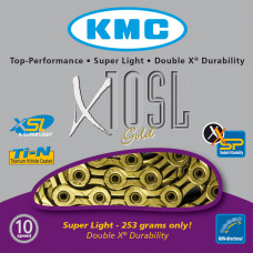 KMC Ketting X10SL Gold