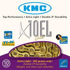 KMC Ketting X10EL Gold