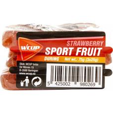 Wcup Sports Fruit 3 x 25 g aardbei