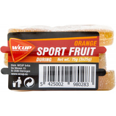 Wcup Sports Fruit 3 x 25 g orange