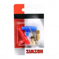 Simson verloopnippels luchtbed/bal assortiment