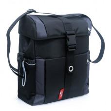 Single tas 130 Vigo zwart/grijs
