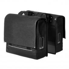 Basil Urban Fold-Double Bag Black