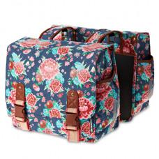 Basil Bloom-Double Bag Indigo Blue