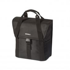 Basil Go Single Bag Solid Black