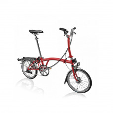 Brompton M-6-R-RD/RD-SPT-TYM-HSU-HDSHI-FCB Vouwfiets
