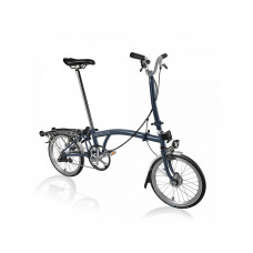 Brompton H-3-R-BK/RD-SP6-TYM-HSU-HDSHI-FCB Vouwfiets