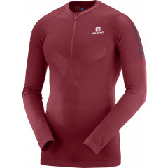 SALOMON Exo Motion Half Zip LS Tee M