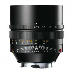 Leica 11602 NOCTILUX-M 50mm f/0.95 ASPH black anodized finish