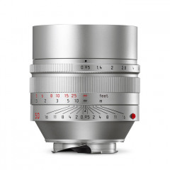 Leica 11667 NOCTILUX-M 50mm f/0.95 ASPH silver anodized finish