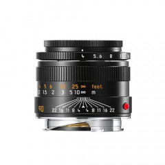 Leica 11670 MACRO-ELMAR-M 90mm f/4 black anodized finish