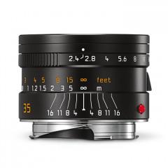 Leica 11671 SUMMARIT-M 35mm f/2.4 ASPH black anodized finish