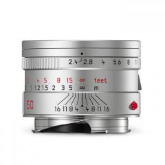 Leica 11681 SUMMARIT-M 50 mm f/2.4 silver anodized finish