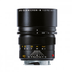 Leica 11884 APO-SUMMICRON-M 90mm f/2 ASPH black anodized finish