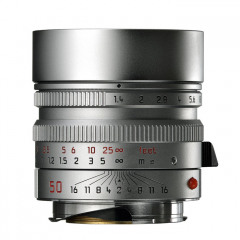Leica 11892 SUMMILUX-M 50mm f/1.4 ASPH silver chrome finish