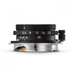 Leica 11928 Summaron-M 28mm f5.6 matt black paint finish