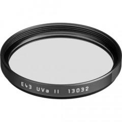 Leica 13032 Filter UVa II E43 black