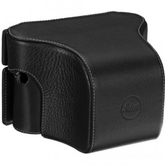 Leica 14888 Ever Ready case M / M-P (Typ 240) Leather Black small front