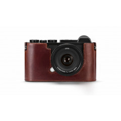 Leica 19525 Protector for CL leather brown