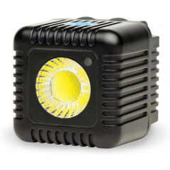 LumeCube Single Cube Black LED Flitser