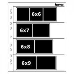 Hama 2256 Negatiefbladen Perg. 60/70Mm 4X3 25S