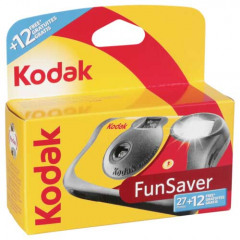 Kodak FunSaver Flash 27 + 12 foto's Single Use Camera
