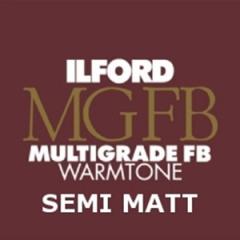 Ilford Multigrade FB WARM MAT 20.3 x 25.4 cm 25 vel  MGW24K