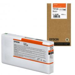 Epson T913A Orange Ink Cartridge (200ml)