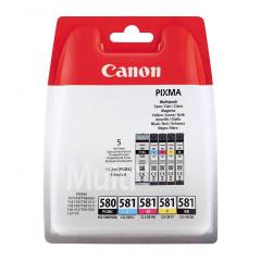 Canon PG-580/581 Multipack (PGBK/C/M/Y/BK)