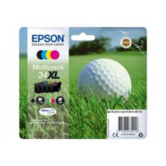 EPSON Multipack 4-kleuren 34XL Inkt Ultra CMYK (XL)