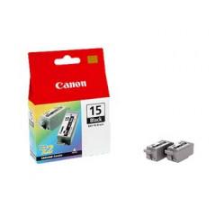 Canon BCI-15 BK Duopak zwart
