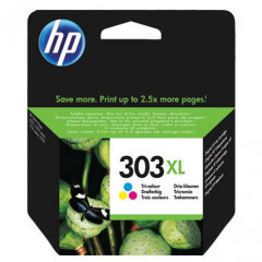 HP 303 XL High Yield Tri-color Ink Cartridge