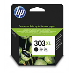 HP 303 XL High Yield Black Ink Cartridge