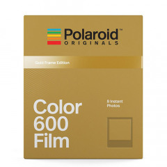 Polaroid Color 600 Film - Gold Frame Edition