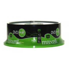 Maxell DVD+R 120/4.7GB Spindle 25 16X
