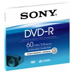 Sony DVD-R 2,8GB 8 cm Jewel Case DMR 60 B