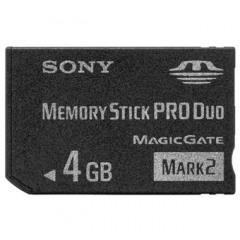 Sony 4GB Memory Stick ProDuo Mark2