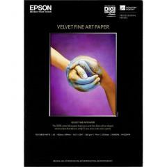 Epson Velvet Fine Art Paper S042096 260g A2 25 Vel