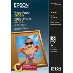EPSON PHOTO PAPER GLOSSY S042540 200g/m2 A4 100 Vel