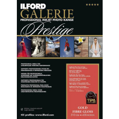 Ilford Gold Fibre Gloss A2 25v 310g Galerie Prestige