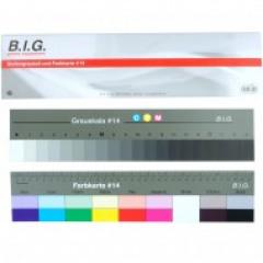 B.I.G. Grijs+Kleurkaart Groot