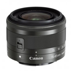 Canon EF-M 15-45mm F/3.5-6.3 IS STM Zwart