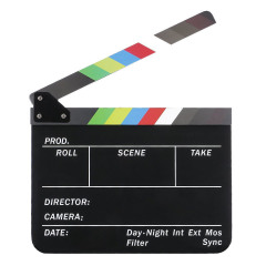 Caruba Dry Erase Director Film Movie Clapboard