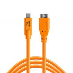 TetherTools CUC3315-ORG USB-C to Micro-B 4,6m ORG