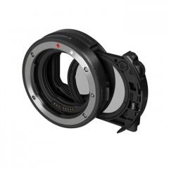 Canon Mount adapter EF/EF-S->EOSR met drop-in circulair polarisatiefilter A