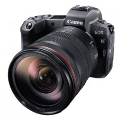 Canon EOS R + EF to RF adapter + RF 24-105mm f/4L IS USM