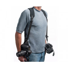 Optech Double Sling Black